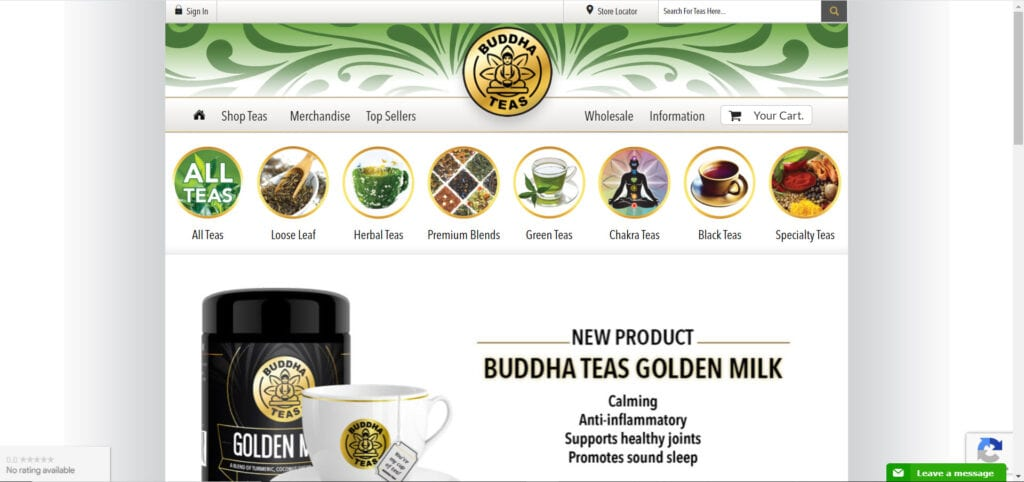 tea affiliate programs - Buddha Teas