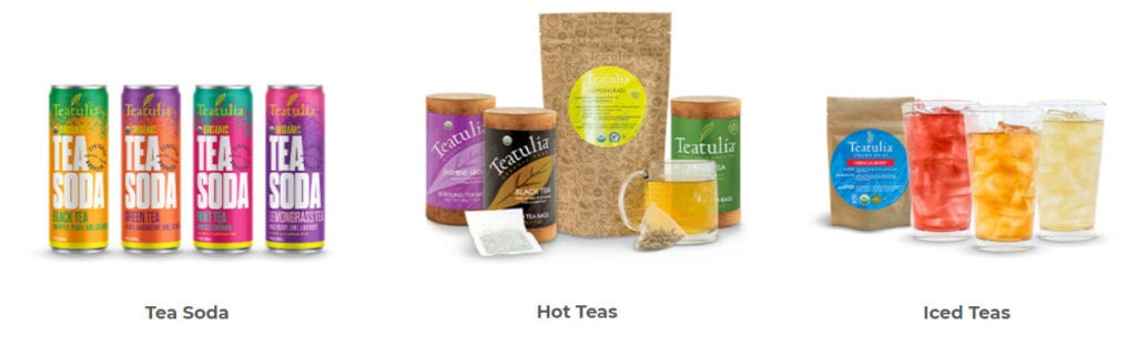 tea affiliate programs - Teatulia stripe