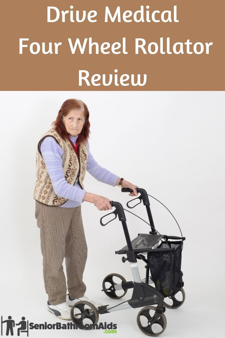 Drive Medical Four Wheel Rollator Review