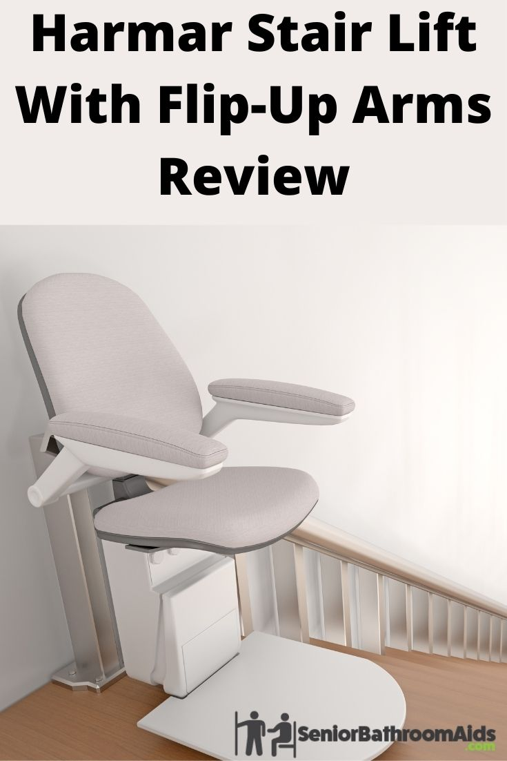 Harmar Stair Lift With Flip-Up Arms Review