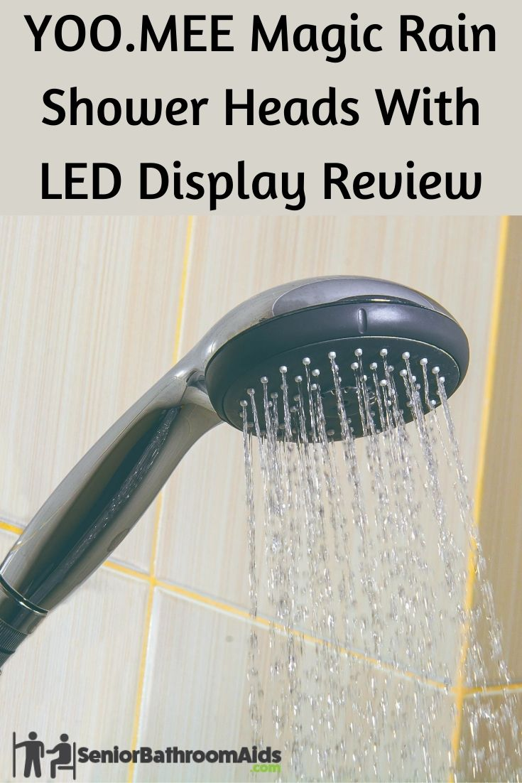 YOO.MEE Magic Rain Shower Heads With LED Mirror Display Review