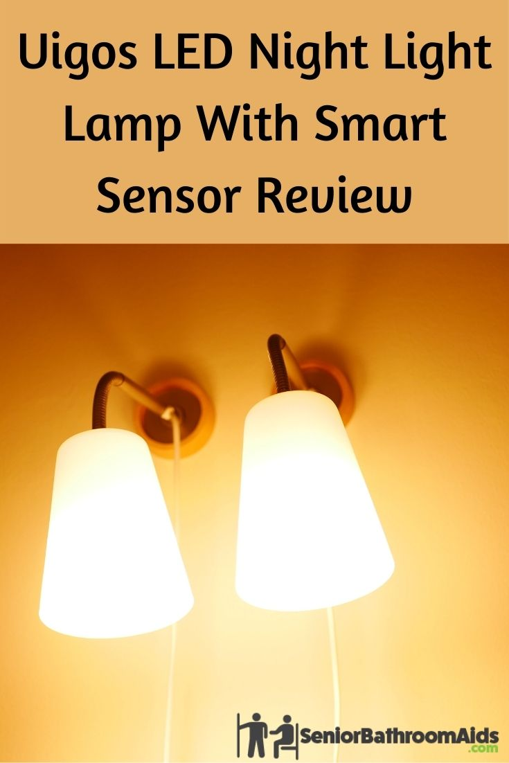 Uigos LED Night Light Lamp with Smart Sensor Review
