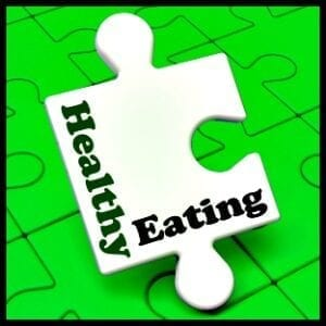 healthy eating puzzle piece