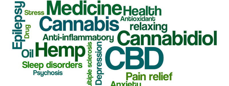 cbd and words for what it treats