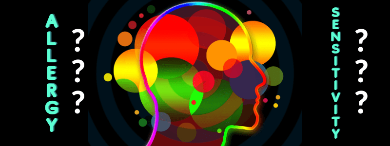head with colored bubbles