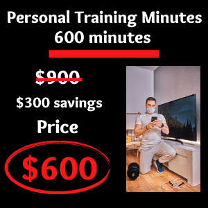 additional 600 fitness minutes