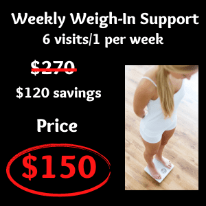 weekly weigh in support