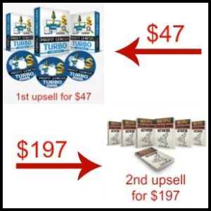 1st and 2nd upsells