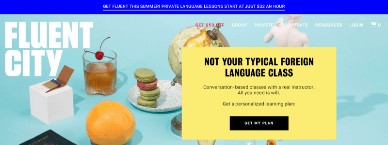 fluent home page