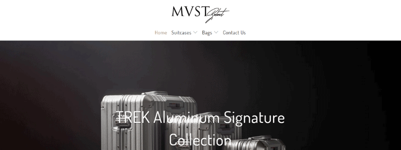mvst luggage home page