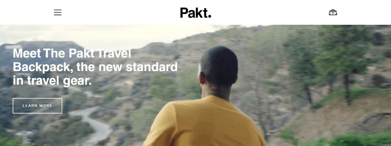 pakt home page