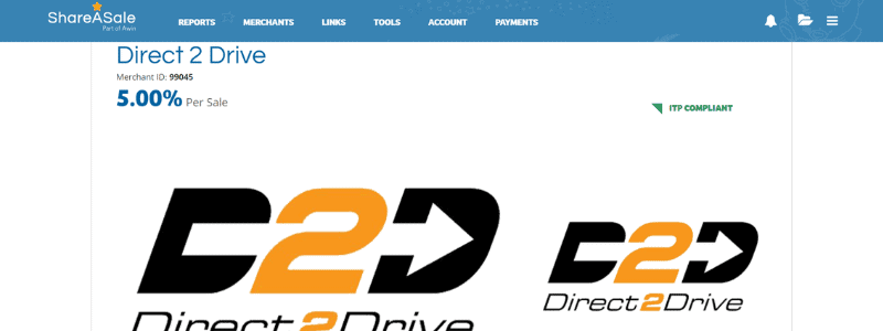direct 2 affiliiate page