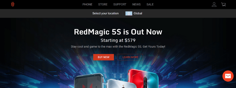 red magic home page
