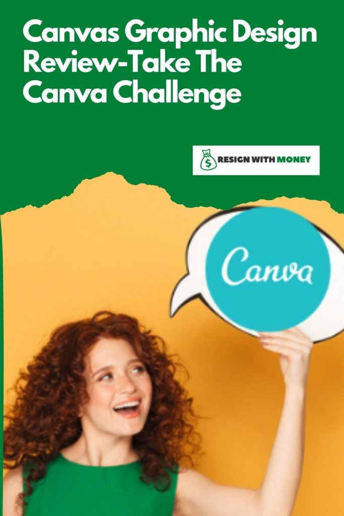 Canvas Graphic Design Review pin