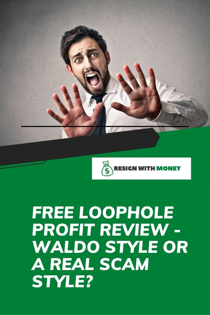 Free money loophole review pin