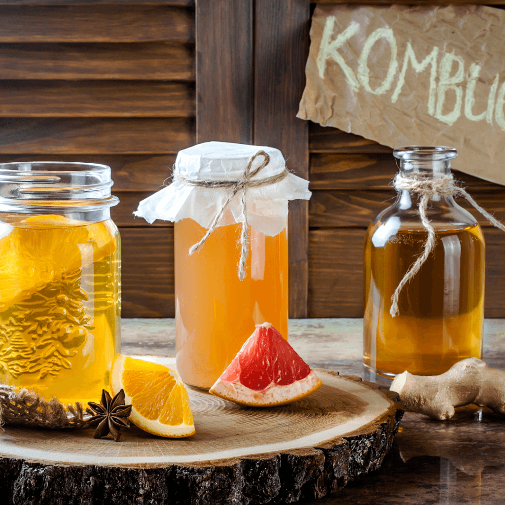 what is in kombucha