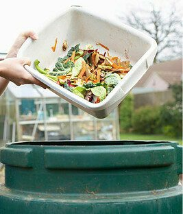 how to compost in a bin