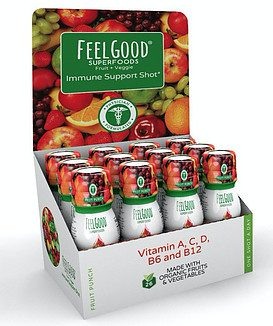 feel good superfoods review of the immune support shot