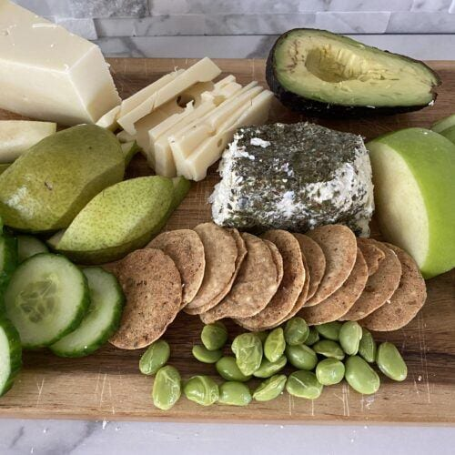 Healthy St. Patrick's Day Charcuterie Board
