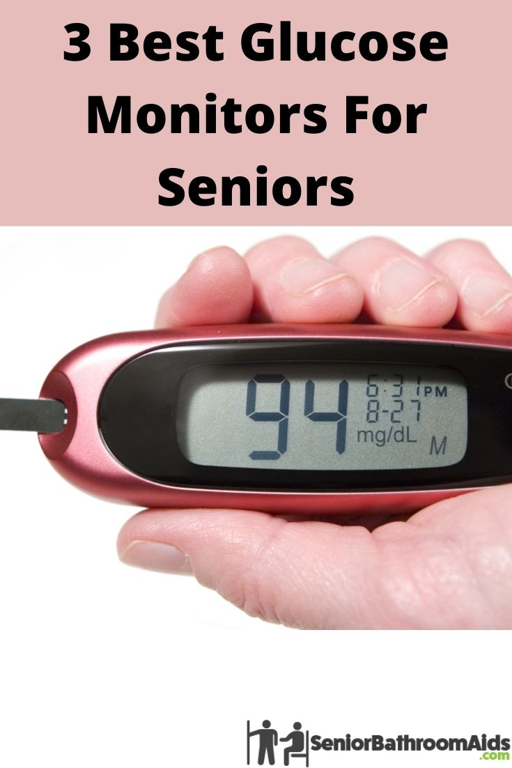 3 best glucose monitors for seniors - an image of a glucose montier